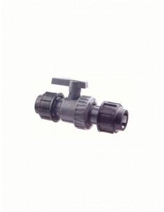 Lodveida ventilis PVC DN20, 335GG - 1