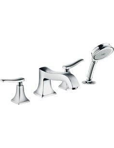 Hansgrohe Rim-Mounted Bath Mixer Metris classic 31314000 - 1