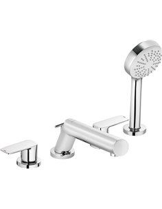 Kludi Rim-Mounted Bath Mixer Pure&Style 404250575 - 1