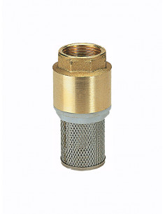 "Foot valve 1030 1.1/4"" - 1"
