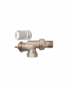 Termostatisks ventilis aksiālais ar galvu 1340007 - 1