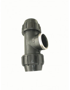Trejgabals cauruļu savienošanai ar iekšējo vītni 515GG 25x3/4 - 1