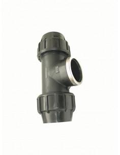 Trejgabals cauruļu savienošanai ar iekšējo vītni 515GG 40x11/4 - 1