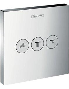 Hansgrohe dušas plūsmas slēdzis ShowerSelect Trio/Quattro 15764000 - 1