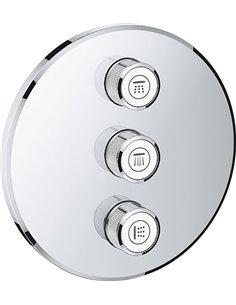Переключатель потоков Grohe Grohtherm SmartControl 29122000 на три потребителя