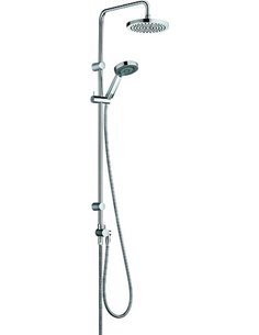 Kludi Shower Rack Zenta dual shower system 6609105-00 - 1