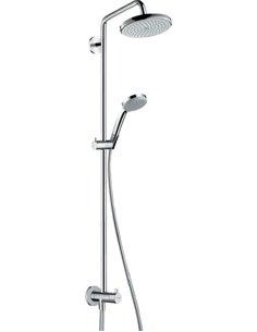 Hansgrohe dušas komplekts Croma 220 Showerpipe Reno 27224000 - 1