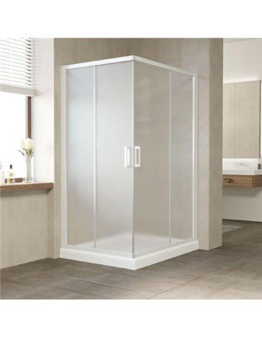 Vegas Glass dušas stūris ZA-F 110*100 01 10 - 1