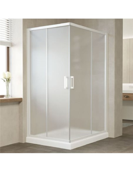 Vegas Glass dušas stūris ZA-F 110*100 01 10 - 2