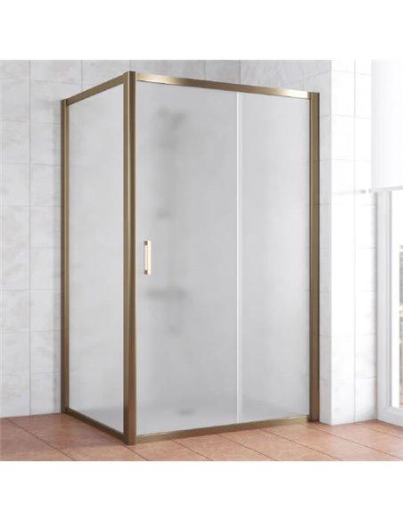 Vegas Glass dušas stūris ZP+ZPV 120*100 05 10 - 1