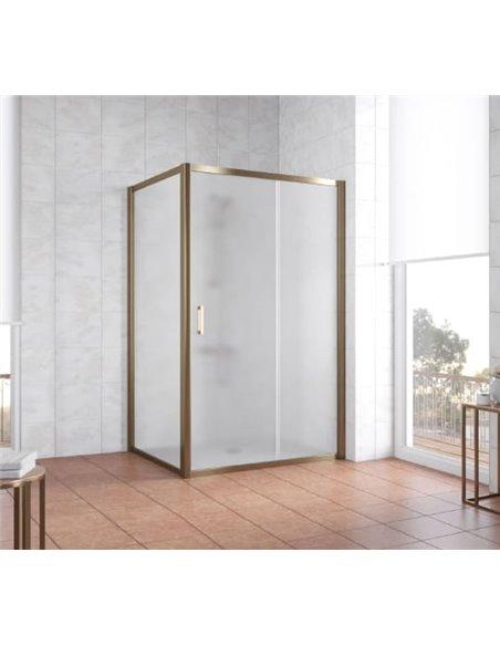 Vegas Glass dušas stūris ZP+ZPV 120*100 05 10 - 2