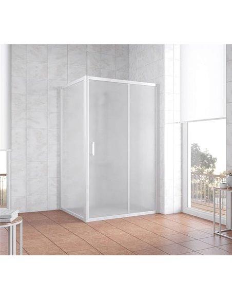 Vegas Glass dušas stūris ZP+ZPV 120*100 01 10 - 2