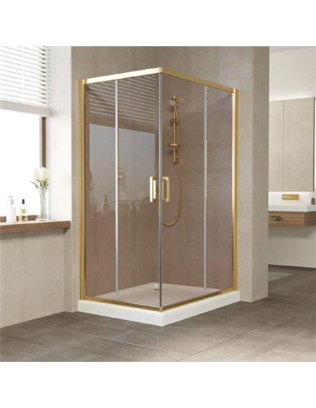 Vegas Glass dušas stūris ZA-F 110*80 09 05 - 1