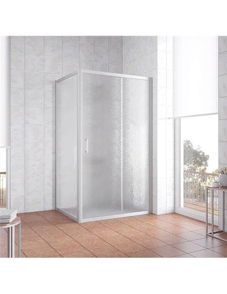 Vegas Glass dušas stūris ZP+ZPV 100*90 07 02 - 2