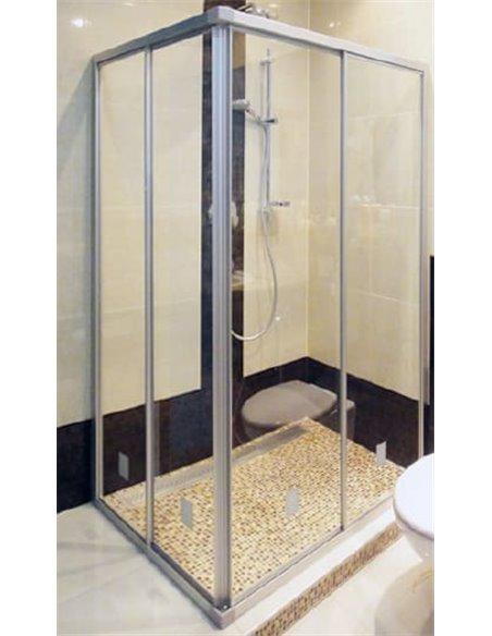 GuteWetter dušas stūris Practic Rectan GK-422 labā - 2