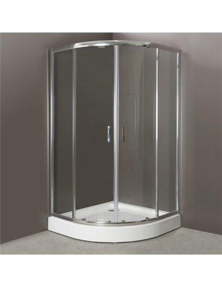 BelBagno dušas stūris Uno R 2 90 C Cr - 1