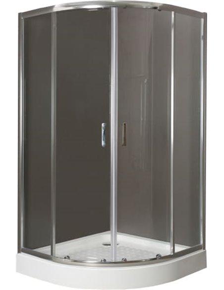 BelBagno dušas stūris Uno R 2 90 C Cr - 2
