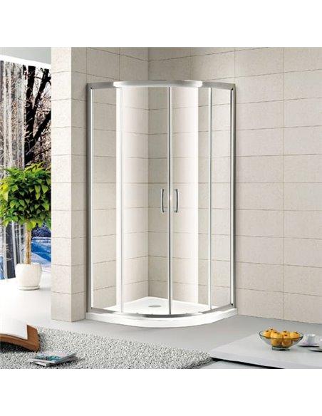 Alvaro Banos dušas stūris Granada S90.20 Cromo - 1