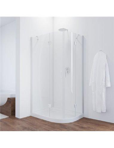 Vegas Glass dušas stūris AFS-F 100*80 01 01 L - 1
