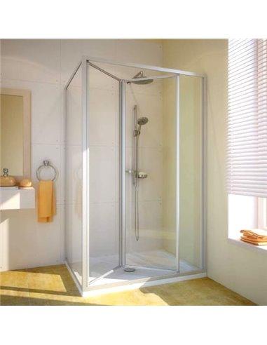 GuteWetter dušas stūris Practic Rectan GK-404 labā - 1
