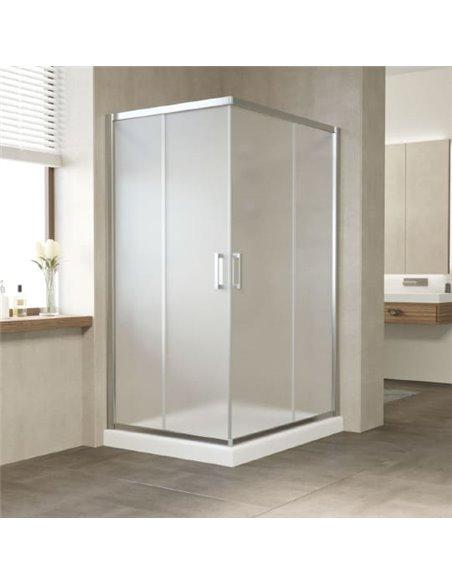 Vegas Glass dušas stūris ZA-F 110*90 08 10 - 1