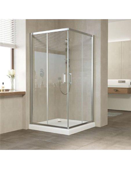 Vegas Glass dušas stūris ZA 0100 08 01 - 1