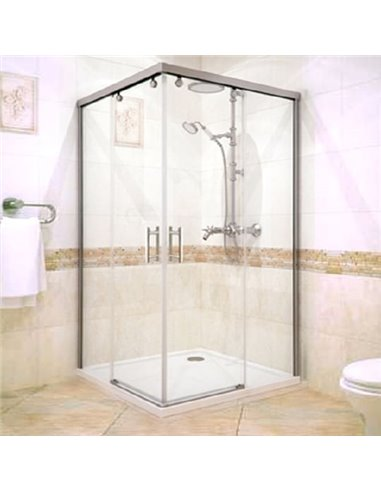 GuteWetter dušas stūris Slide Rectan GK-864 labā - 1