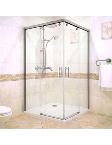 GuteWetter dušas stūris Slide Rectan GK-864 kreisā - 1