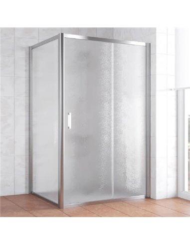 Vegas Glass dušas stūris ZP+ZPV 110*100 08 02 - 1