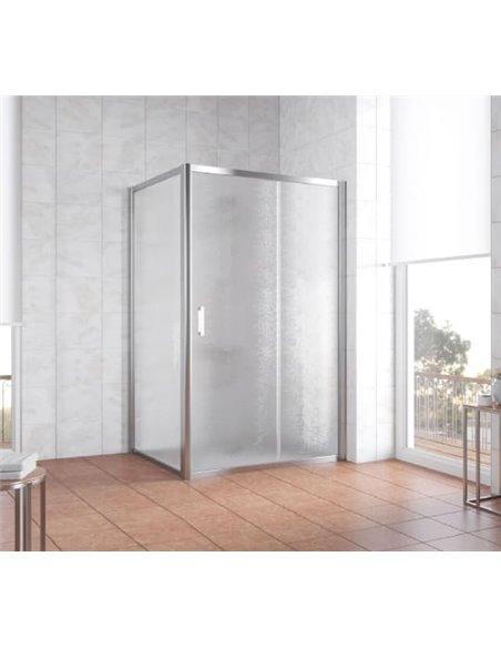 Vegas Glass dušas stūris ZP+ZPV 110*100 08 02 - 2