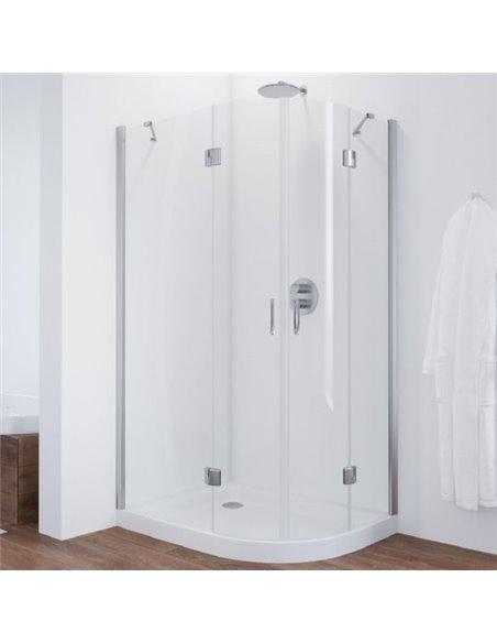 Vegas Glass dušas stūris AFS-F 110*80 08 01 L - 1