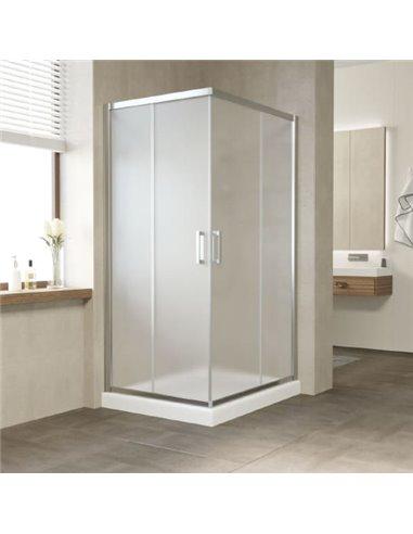 Vegas Glass dušas stūris ZA-F 90*80 08 10 - 1
