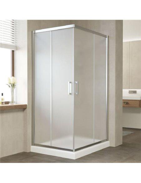 Vegas Glass dušas stūris ZA-F 90*80 08 10 - 2