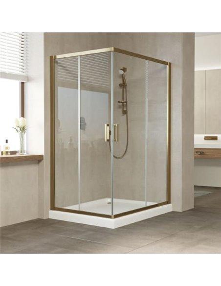 Vegas Glass dušas stūris ZA-F 120*100 05 01 - 1