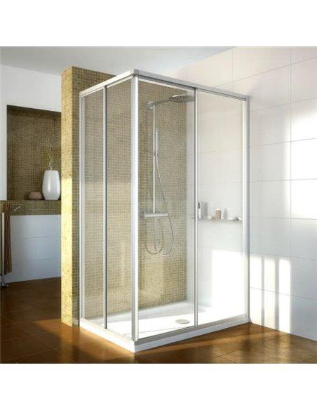 GuteWetter dušas stūris Practic Rectan GK-422 labā - 1