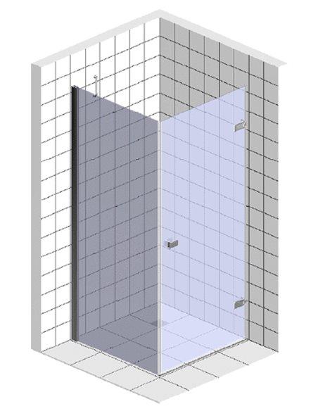 Riho dušas stūris Scandic Soft Q201 - 3