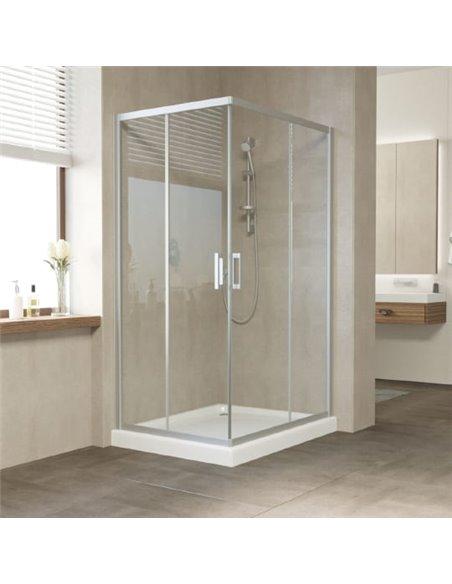 Vegas Glass dušas stūris ZA-F 100*80 07 01 - 1