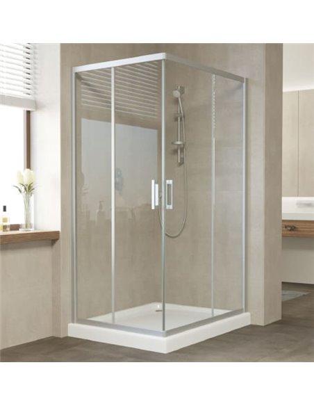 Vegas Glass dušas stūris ZA-F 100*80 07 01 - 2