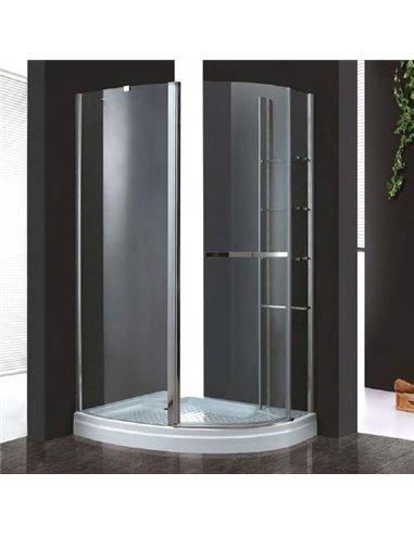 Cezares dušas stūris Elena RH1 120/90 C Cr L - 1