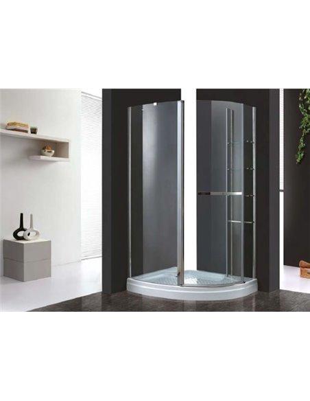 Cezares dušas stūris Elena RH1 120/90 C Cr L - 2