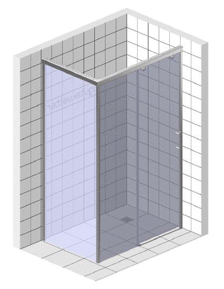 GuteWetter dušas stūris Slide Rectan GK-863B kreisā - 4