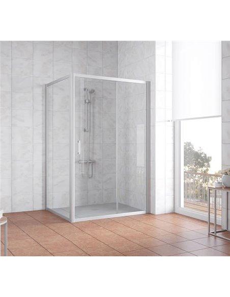 Vegas Glass dušas stūris ZP+ZPV 140*80 07 01 - 2