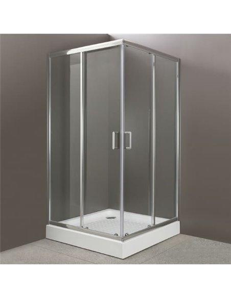 BelBagno dušas stūris Uno A 2 90 C Cr - 1