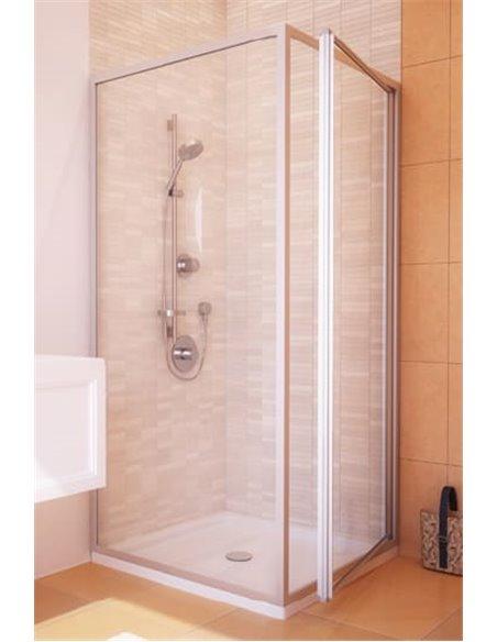 GuteWetter dušas stūris Practic Rectan GK-401 labā - 2