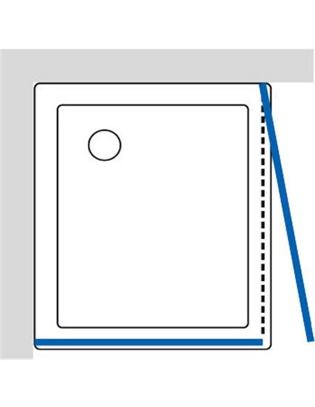 GuteWetter dušas stūris Practic Rectan GK-401 labā - 6