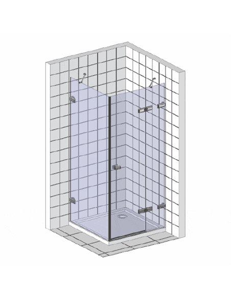 Ravak dušas stūris CRV2-80+CPS - 3