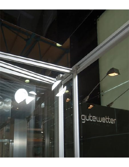 GuteWetter dušas stūris Practic Rectan GK-404 kreisā - 2