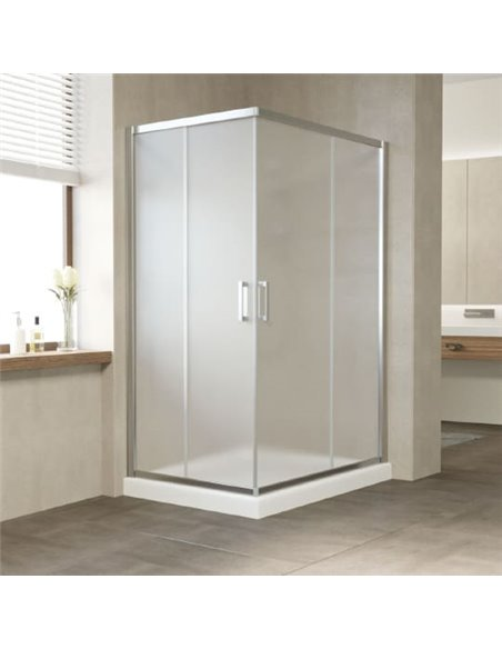 Vegas Glass dušas stūris ZA-F 120*90 08 10 - 1
