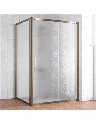 Vegas Glass dušas stūris ZP+ZPV 140*100 05 02 - 1