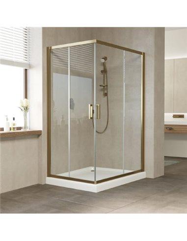 Vegas Glass dušas stūris ZA-F 120*90 05 01 - 1